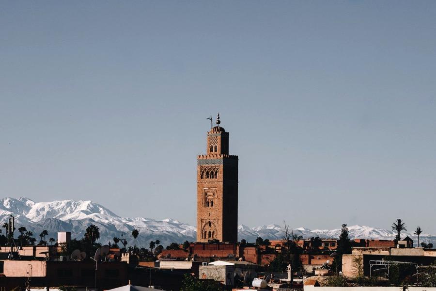 EVJF Marrakech - Mosquée Koutoubia