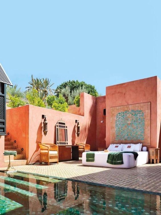 hebergement evjf marrakech
