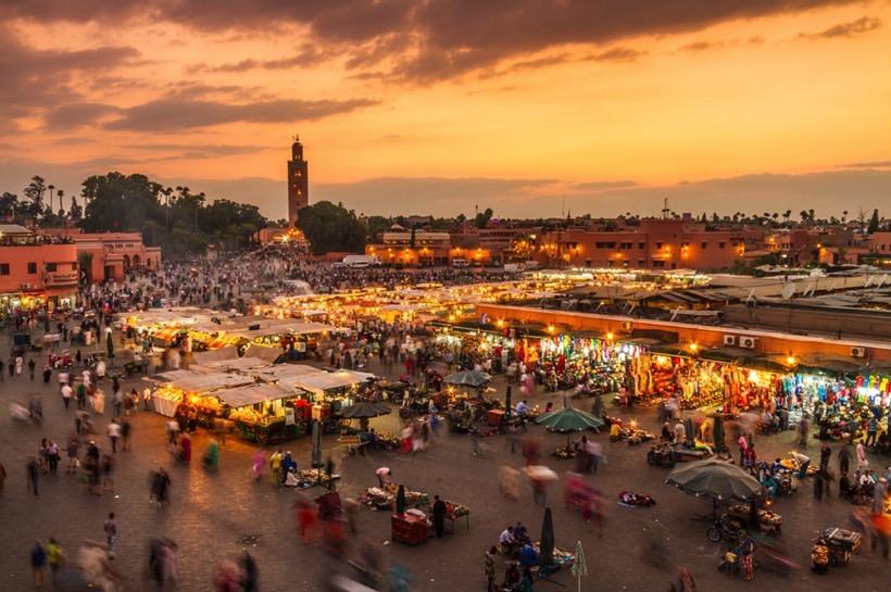 ou sortir pendant un evjf à Marrakech - meilleurs lieux