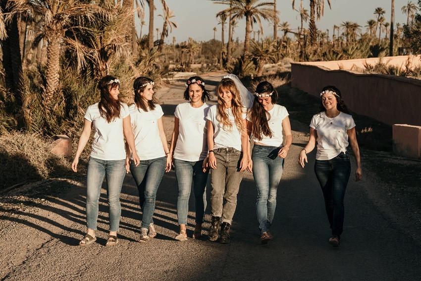 shooting photo evjf Marrakech - photographe evjf Marrakech